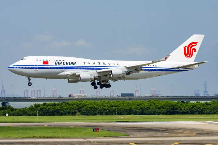 boeing 747 China Airlines Baoan