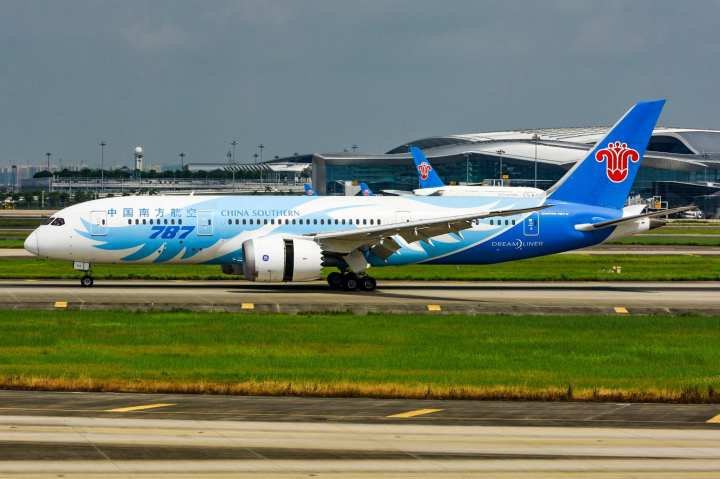 China Southern dreamliner