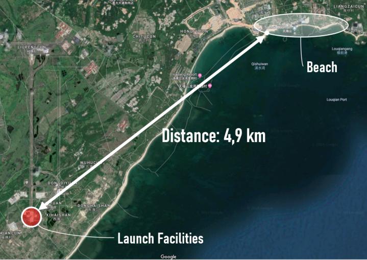 wenchang satellite image